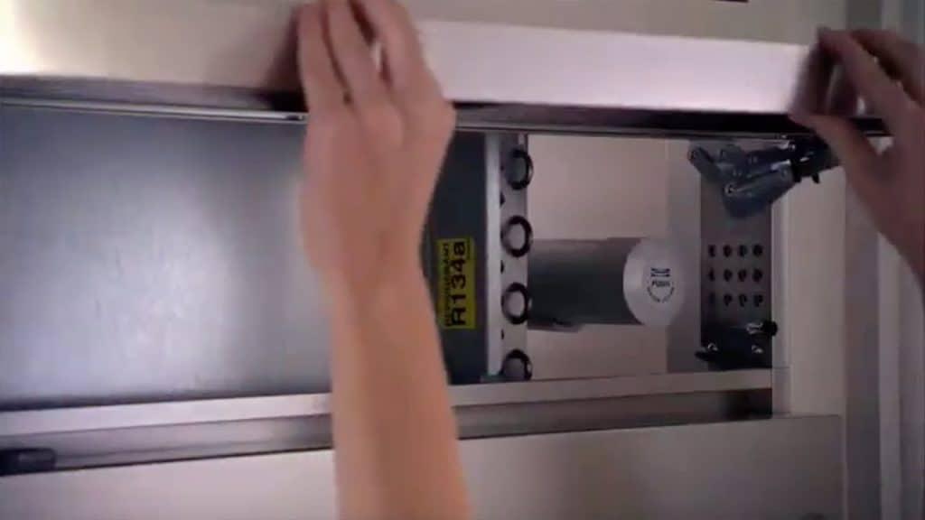 clean coils on sub zero refrigerator